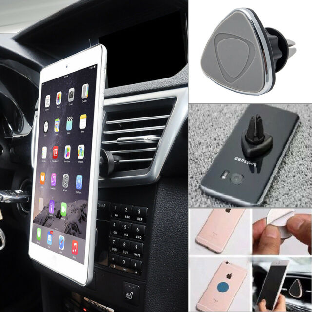 Universal Car Magnetic Air Vent Mount Holder Stand Mobile Cell Phone For GPS