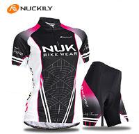 Cycling Women Sports Girls Jersey+shorts Bike Wear Clothing Size S-xl