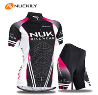 Cycling Women Sports Girls Jersey+shorts Bike Wear Clothing Size S-xl