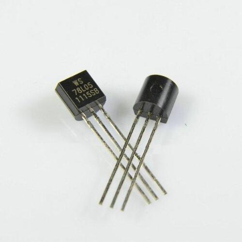 30PCS WS78L05 78L05 WS TO-92 IC REG LDO 5V .1A NEW