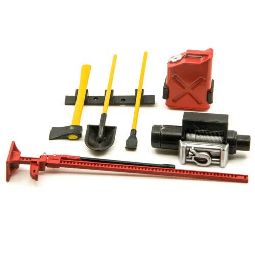 1//10 Scale RC Rock Crawler Accessory Tool Set For D90 D110 SCX10 Wraith D90