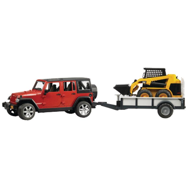 02925 Bruder Jeep Wrangler Unlimited Rubicon Set Set Set Profi Serie 0f9813