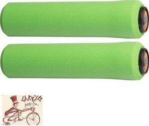 Esi Chunky 32Mm Grips Green 130Mm Bike