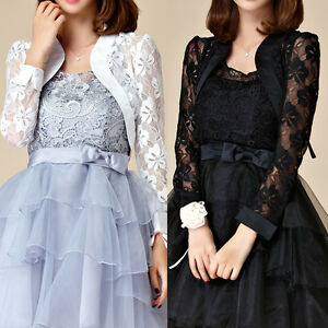Women-Ladies-Evening-Party-Top-Dress-Bolero-Shrug-AU-Size-10-12-14-16-18-7669