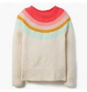 Gymboree Toddler Girl/'s Pullover Rainbow Sweatshirt NWT!