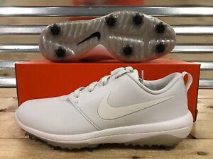 be6b94a9ba32 Nike Roshe G Tour Golf Shoes Triple Summit White Mens SZ ( AR5580 ...