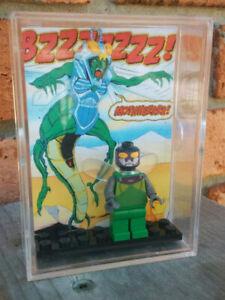 Custom-THUNDERCATS-Classic-Stinger-Genuine-LEGO-Part-Minifigure-Brick-amp-Case