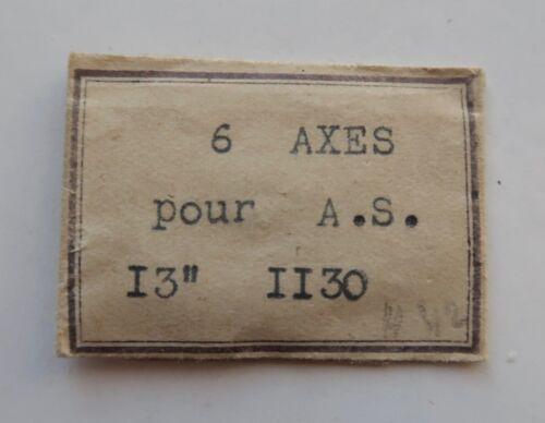 un axe de balancier AS 1130