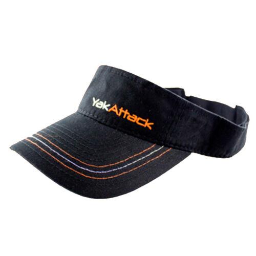 YakAttack Adjustable Visor Black ATS-1006-BK