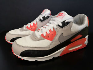 buy popular 50c4b f6d36 Image is loading NIKE-AIR-MAX-90-INFRARED-PREMIUM-AM-9-