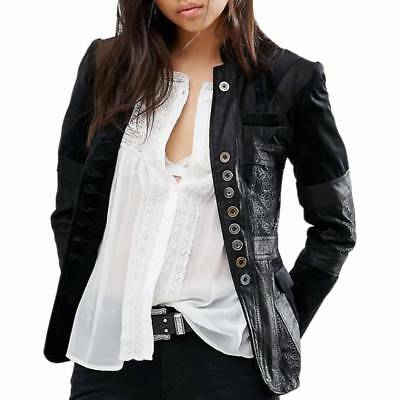 BOLONGARO TREVOR Black Whoese Leather Jacket RRP £325