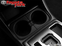 2011-2016 Toyota Tacoma (left) Front Console Cup Holder Insert 66991-04012