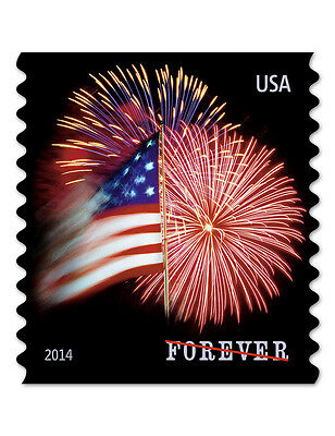 USPS New The Star-Spangled Banner Forever Stamp Coil of 100
