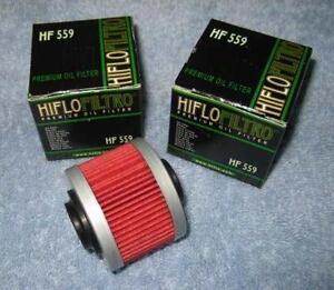 Hiflofiltro HF559 Oil Filter For 2010 Can-Am Spyder RT SM5 Audio//Convenience