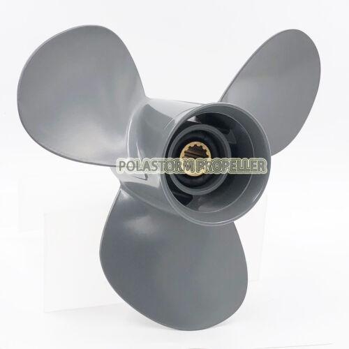 Aluminum Outboard Propeller 11 3//4x10P for HONDA Prop 35-60HP 58130-ZV5-860ZA