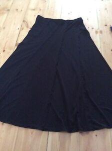 Women-039-s-Ladies-Size-12-Black-Marks-and-Spencer-Marks-amp-Spencer-Skirt