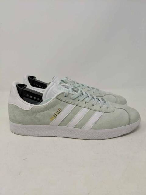 Adidas Originals Mens Gazelle Sneakers Mint Green BB5473 Lace Up Low Shoes 9.5