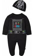 Star Wars Darth Vader Babygrow sleep suit Romper Newborn BNWT The Force Awakens
