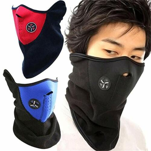 Polar Fleece Thermal Neck Warmer Gaiter Face Mask Snood Hat Scarf Winter Sports