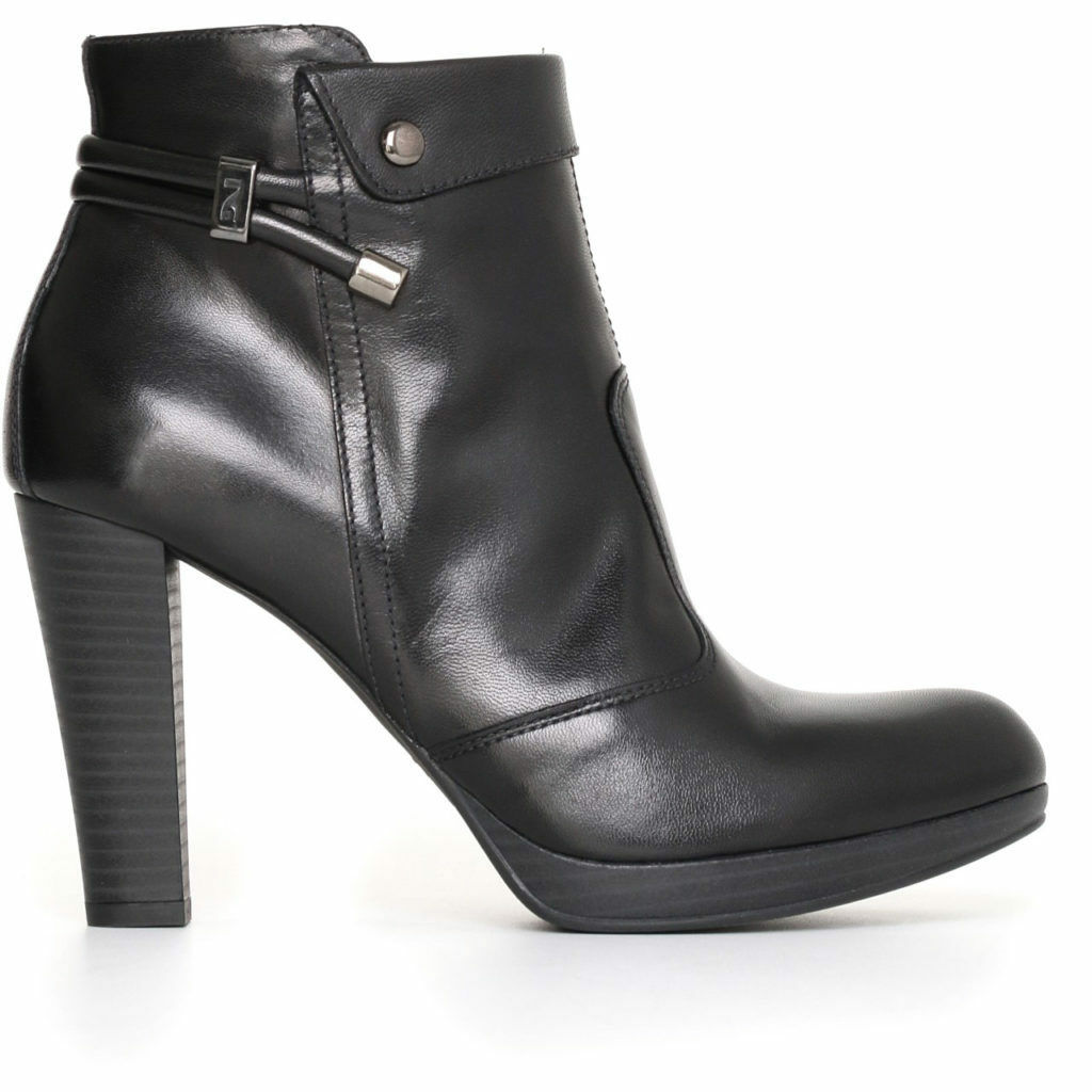 Ankle boot ankle blackgiardini A719130D NEW COLLECTION real leather italy