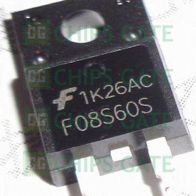 9PCS F08S60S Encapsulation:TO-220,