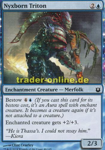 4x Nyxborn triton Born of the Gods Magic nyxgeborener tritonier