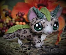 Littlest Pet Shop chibi jaguar Dragon Forest Spirit OOAK custom figure LPS cat