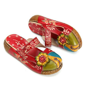 SOCOFY-Women-Vintage-Colorful-Leather-Hollow-Out-Shoes-Backless-Flower-Sandals