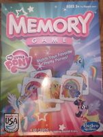 Memory Game - My Little Pony Edition - (brand New-2013)