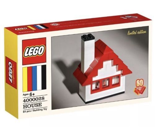 LEGO 4000028 House Classic Set 60th Anniversary LIMITED EDITION Walmart