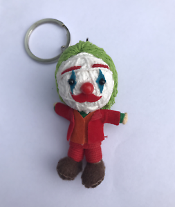 Joaquin Phoenix Le Joker nouveau film Voodoo String doll Keychain Porte-clés 2019