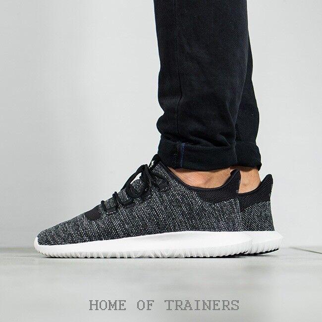 Adidas Tubular sombra Knit Negro blancooo De Hombre Zapatillas Todas Las Tallas BB8826 (PTI)