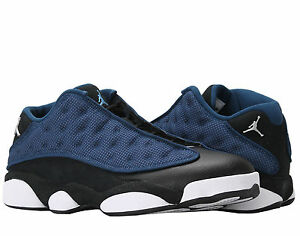 reputable site ca7cd ed503 Image is loading Nike-AIR-JORDAN-Retro-13-Low-Brave-Blue-