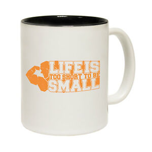 Funny Coffee Mug Novelty Birthday Gift Swps Life Is Short To Be Small