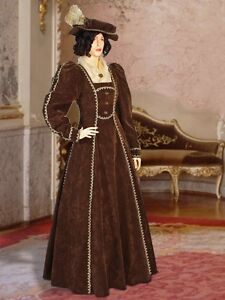 Renaissance-Dress-Victorian-Gown-Style-Noble-Costume-Handmade-Clothing-Medieval