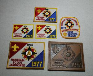1977-National-Scout-Jamboree-Patch-Set-East-Central-Region