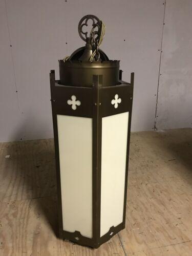 Vintage McFadden Church Ceiling Pendant Chandelier Light Lights Religious