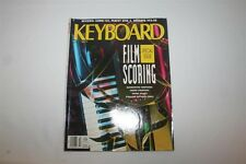 Keyboard Magazine March 1990 Special Film Scoring Issue Kawai K4 Peavey DPM