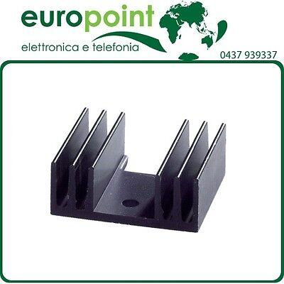 Dissipatore termico in alluminio per TO220  TO126 transistor diodo
