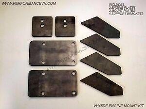 90-96-300ZX-VH45DE-ENGINE-MOUNT-BRACKET-SWAP-KIT-240SX-Z32-S13-S14