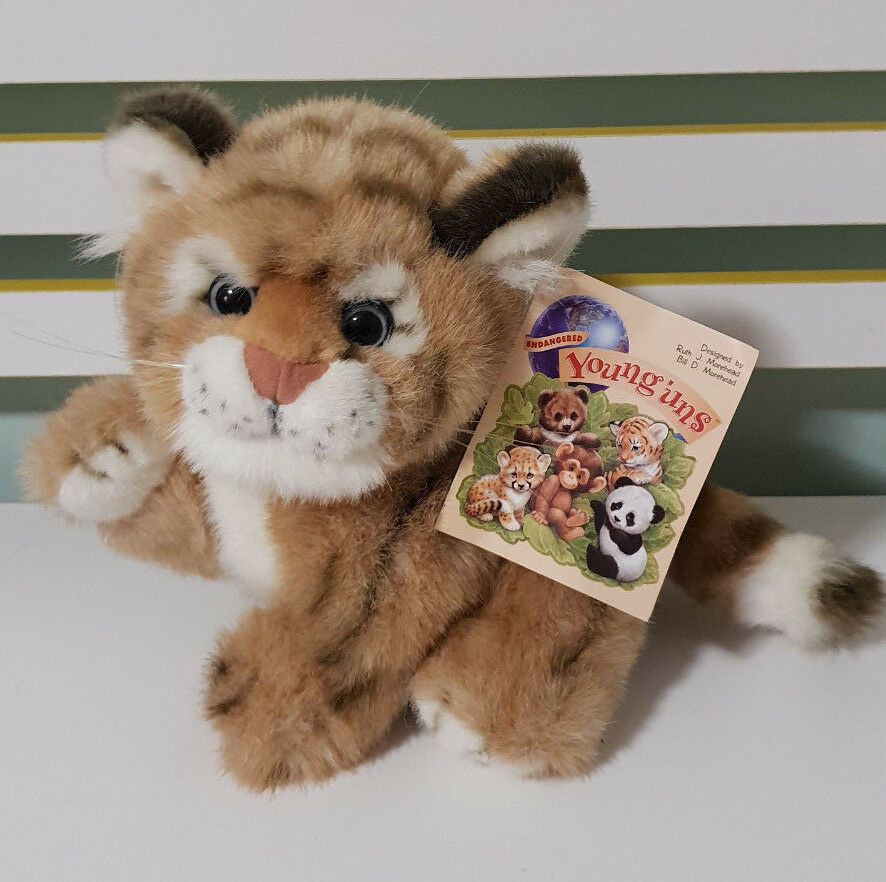 Endangered Young'uns Morehead Collection TIGER 22cm Plush. Morehead, Inc. TAGGED