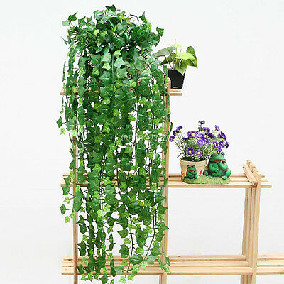 8.2feet Artificial Ivy Leave Garland Plants Vine Fake Foliage Flowers Home