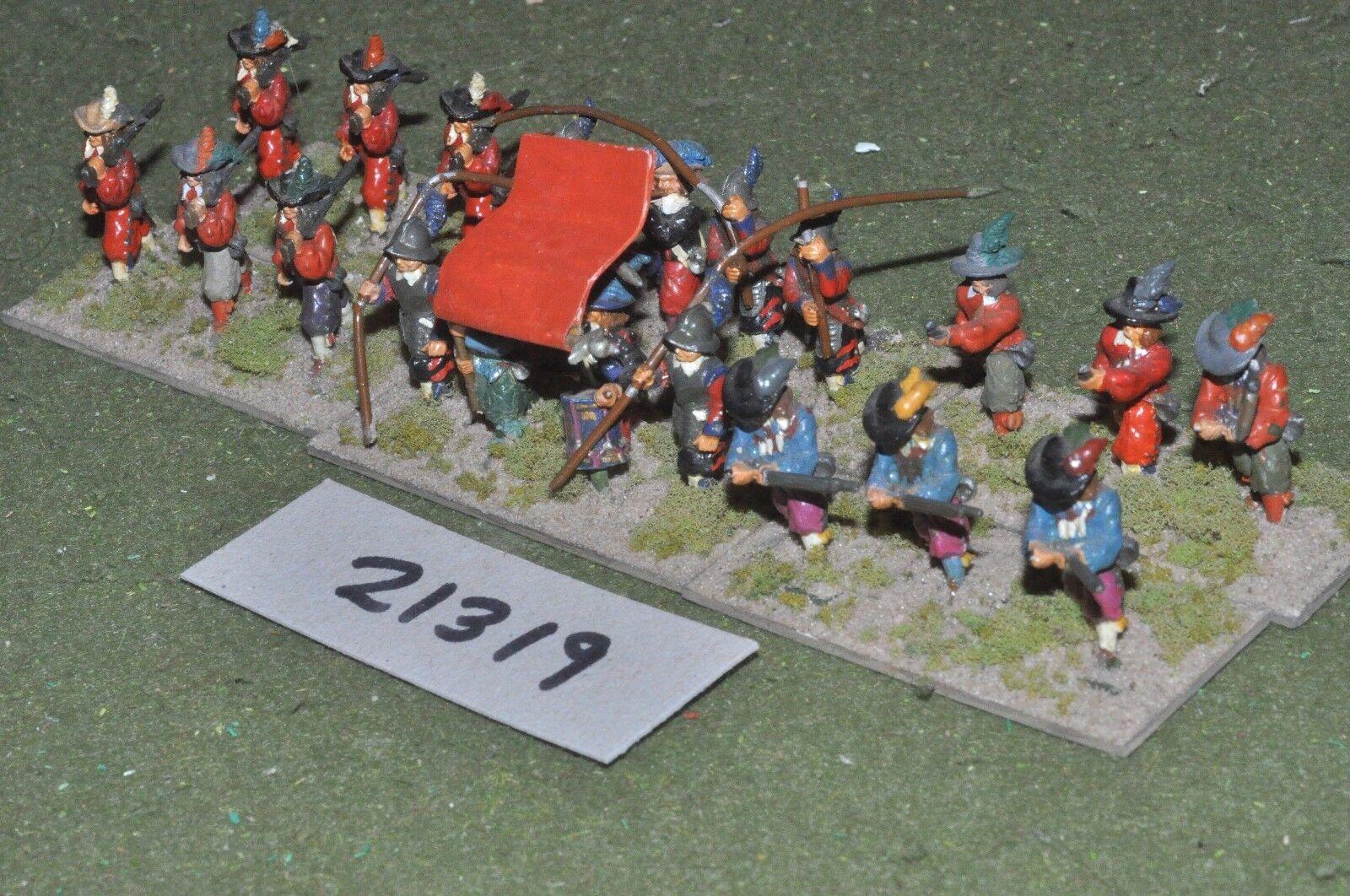 25mm ECW   english - civil war infantry - inf (21319)