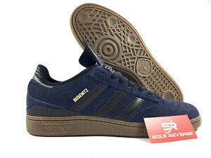 NEW-adidas-Originals-Busenitz-Navy-Blue-Black-Gum-Skate-Shoes-BB8429