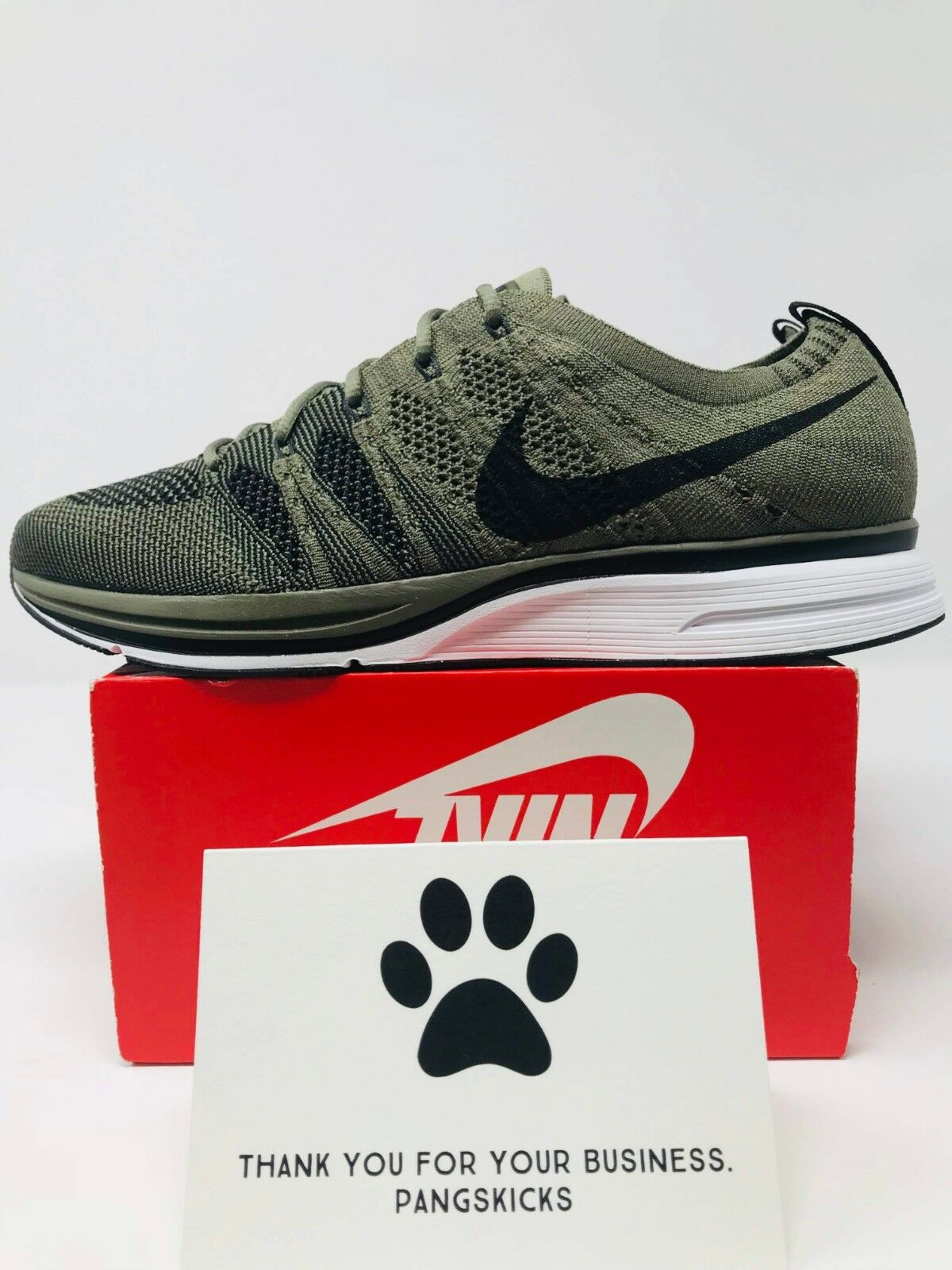 Nike Flyknit Trainer 'Olive' AH8396-200 Size 7.5-12