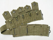 US Army WW2 AMMO CARTRIDGE BELT Belt GARAND OD