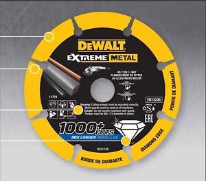 DEWALT-EXTREME-METAL-DISCO-DA-TAGLIO-DIAMANTATO-PER-METALLO-1000-TAGLI
