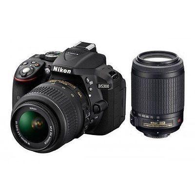 Nikon Digital Camera D5300 AF-P 18-55 & AF-P DX NIKKOR 70-300mm f/4.5-6.3G SMP3