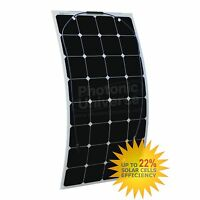 Semi Flexible 100 Watt Solar Panel 12v High Efficiency Class-a Sunpower 100w