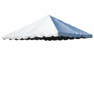 Details about 20x20' Tent Top 16oz Block-out Premium Vinyl West Coast Frame  Wedding Canopy Top